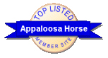 Check out the Top 50 Appaloosa Horse sites!